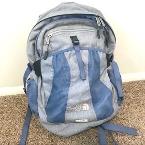 The North Face Recon Blue Back Pack
